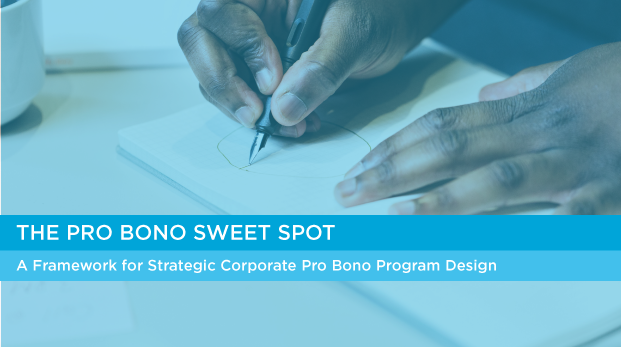 Find your company's Pro Bono Sweet Spot with Taproot's newest framework. Get it here.