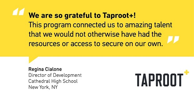 Click here to make your connection on Taproot+.