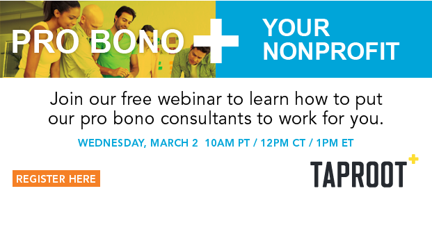 Achieve your goals faster with the help of a skilled volunteer. Join this webinar to learn where to find them.