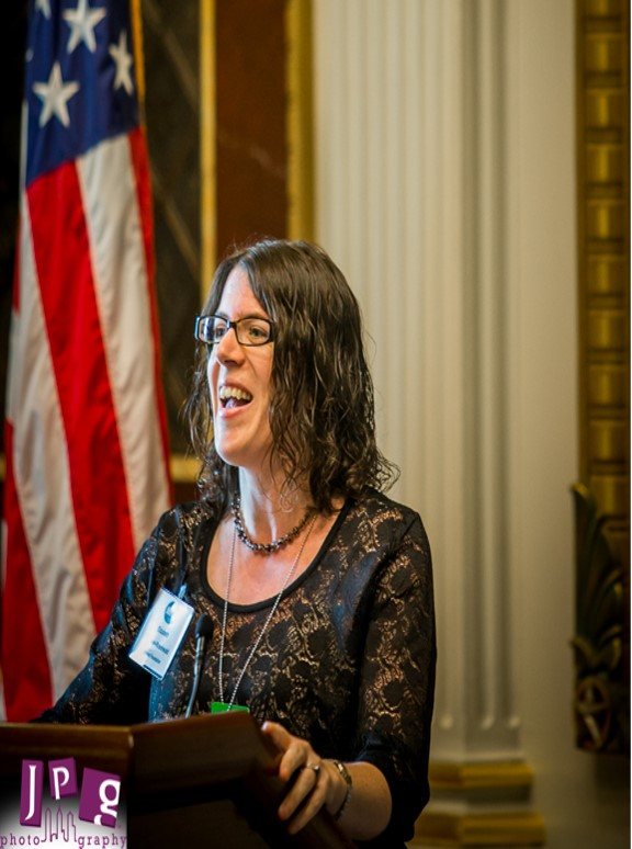 Elizabeth Schwan-Rosenwald, VP External Affairs, Taproot. Photo credit: JPG Photography
