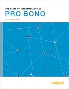 Learn more about nonprofit pro bono providers and the work they do in The State of Intermediary-Led Pro Bono!
