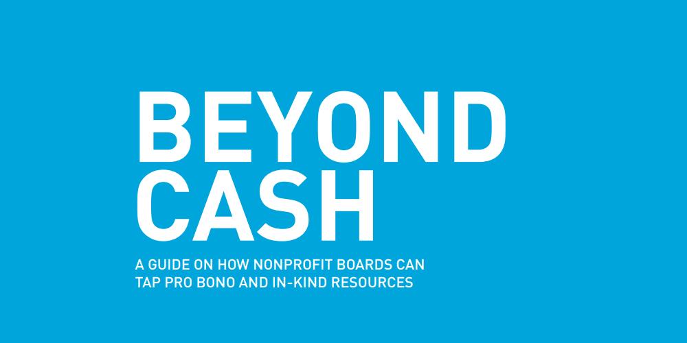 Beyond Cash title page