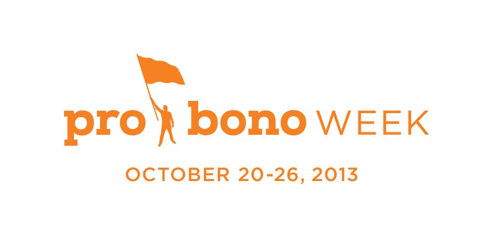 Pro Bono Week logo