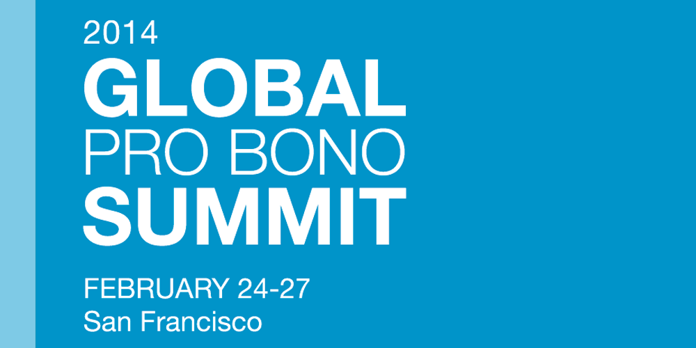 2014 Global Pro Bono Summit