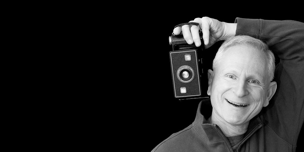 A portrait of photographer David Moss