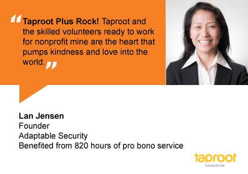 People of Pro Bono: Lan Jensen, Adaptable Security