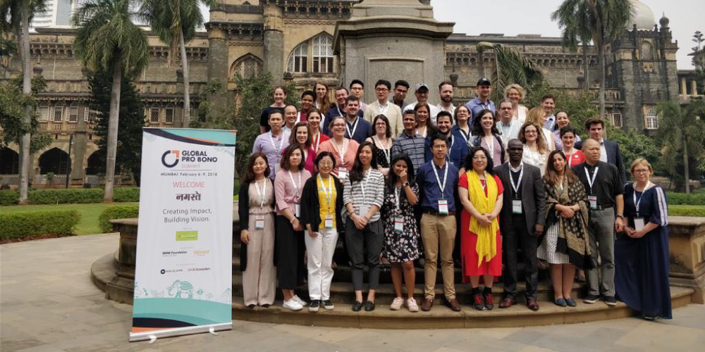 Global Pro Bono Summit 2018 in Mumbai, India