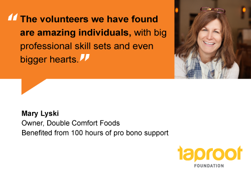 People of Pro Bono: Mary Lyski, Double Comfort Foods