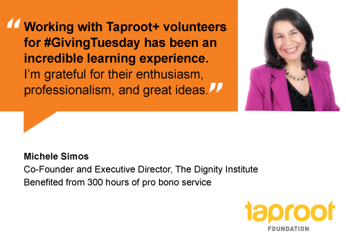 People of Pro Bono: Michele Simos, The Dignity Project