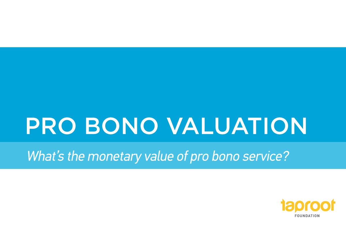 Pro Bono Valuation