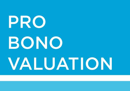 Pro Bono Valuation