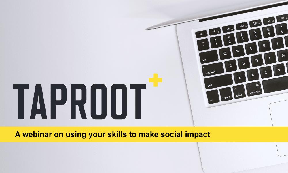 Volunteering your skills to make social impact