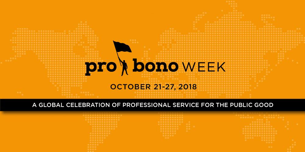 Pro Bono Week 2018