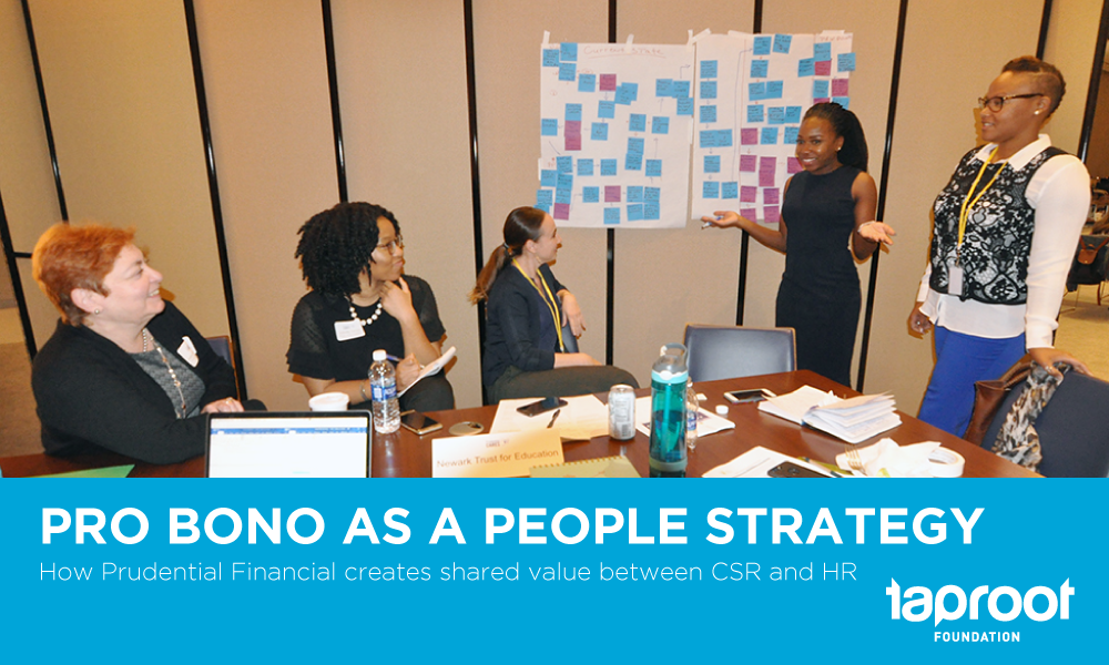 Prudential Pro Bono as a People Strategy case study