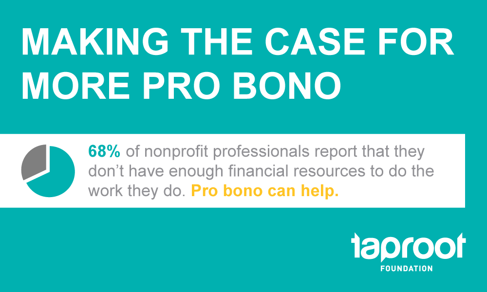 2017 State of Pro Bono Service Report: Making the Case for More Pro Bono at Nonprofit Organizations