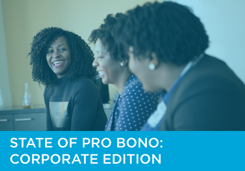 State of Pro Bono: Corporate Edition
