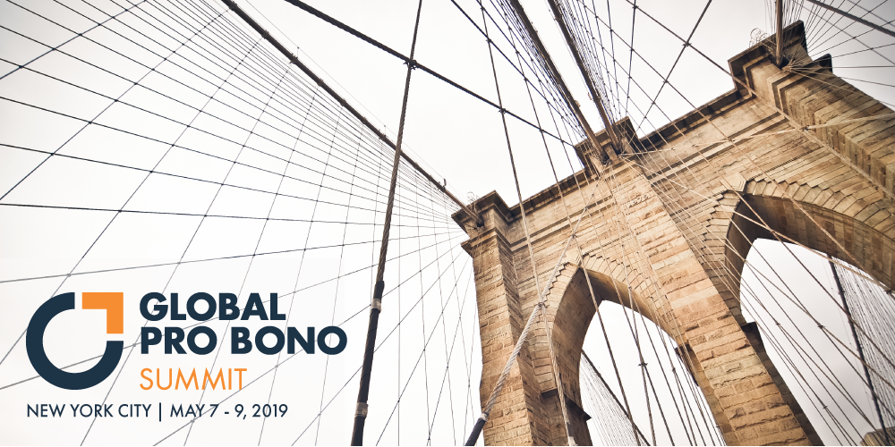 Global Pro Bono Summit 2019