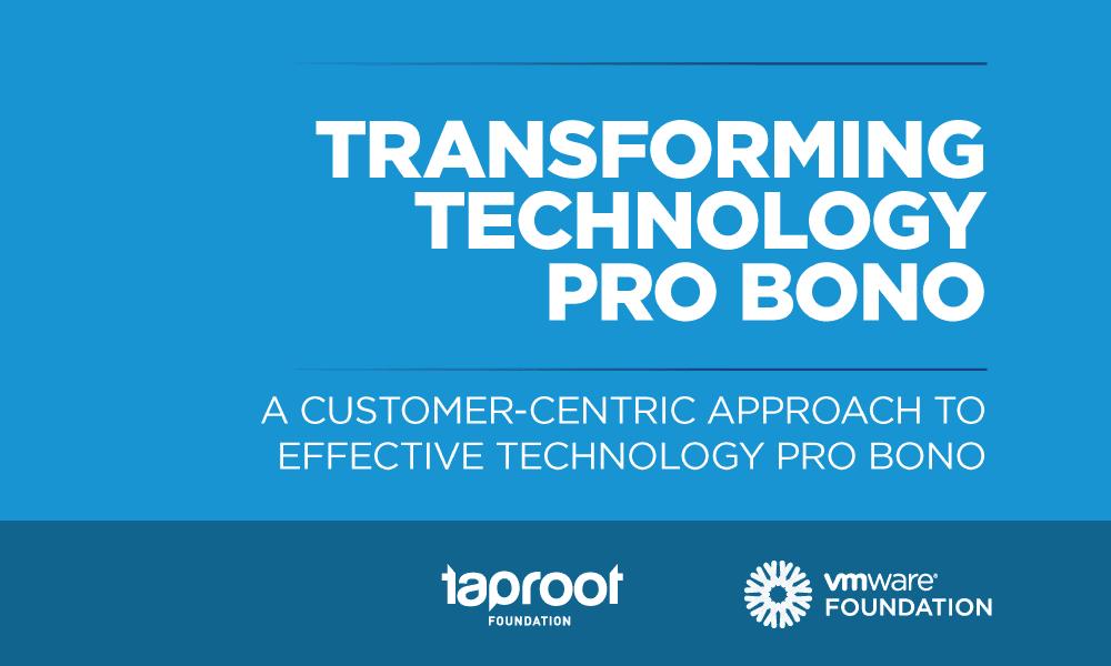 Transforming Technology Pro Bono