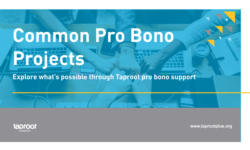 Common Pro Bono Catalog