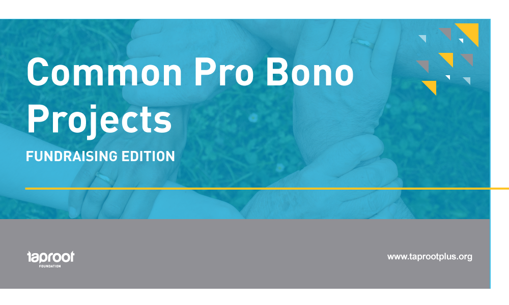 How to take your nonprofit's fundraiser to the next level using pro bono support.