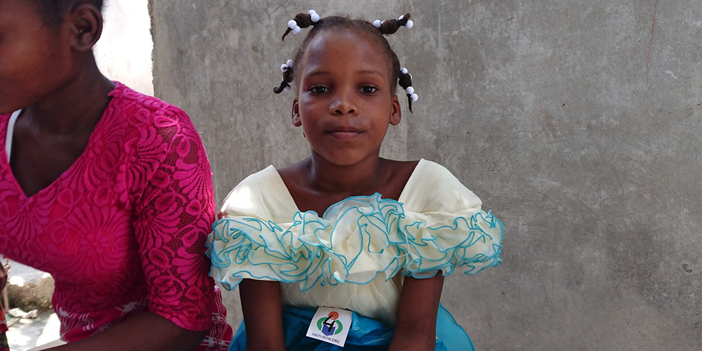 Haiti Now image of a Restavek girl