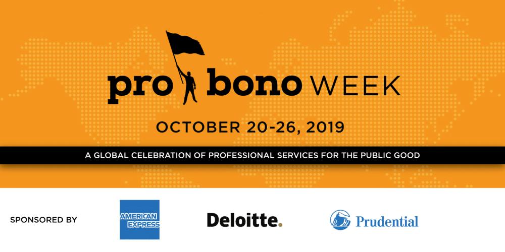 Pro Bono Week 2019