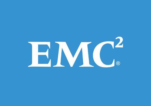 EMC logo pro bono program design