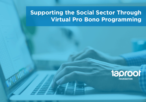 Explore our webinar on virtual pro bono!