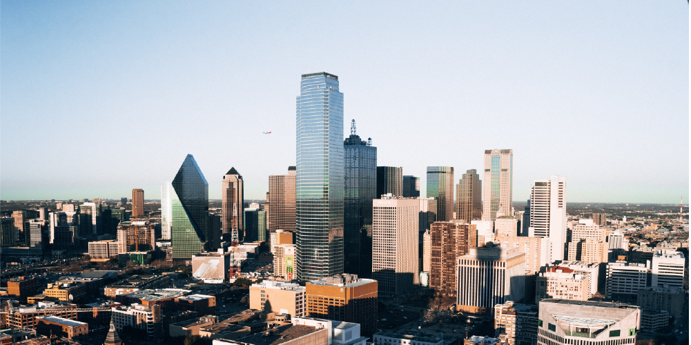Dallas cityscape, where ReBirth Empowerment Education's programs are based